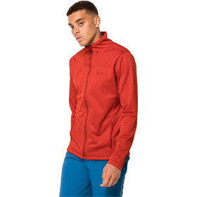 Jack Wolfskin Horizon Jacket Men lava red